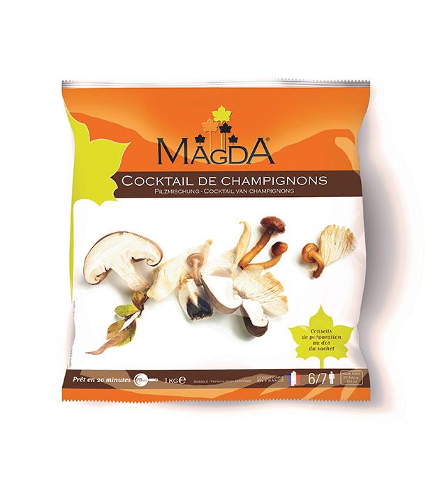 cocktail de champignons surgelés MAGDA