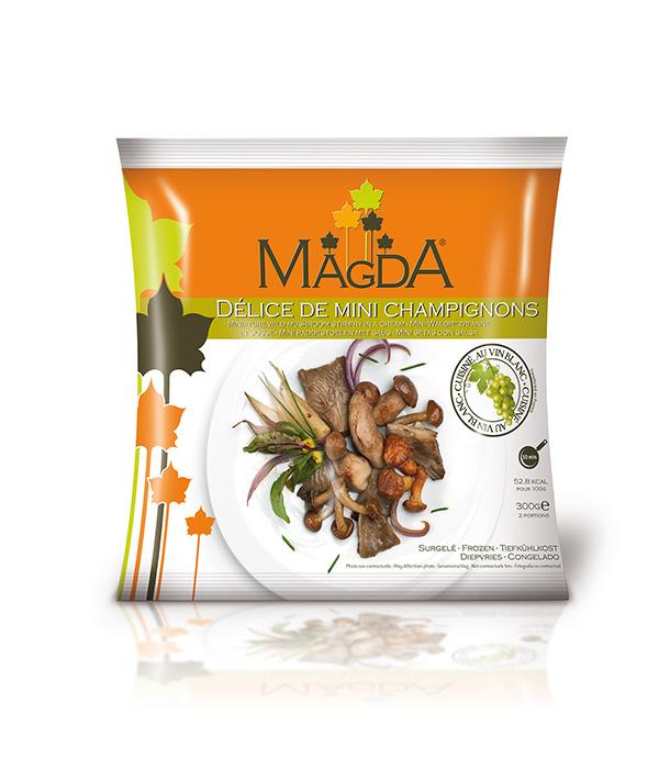 Délice de mini champignons Magda
