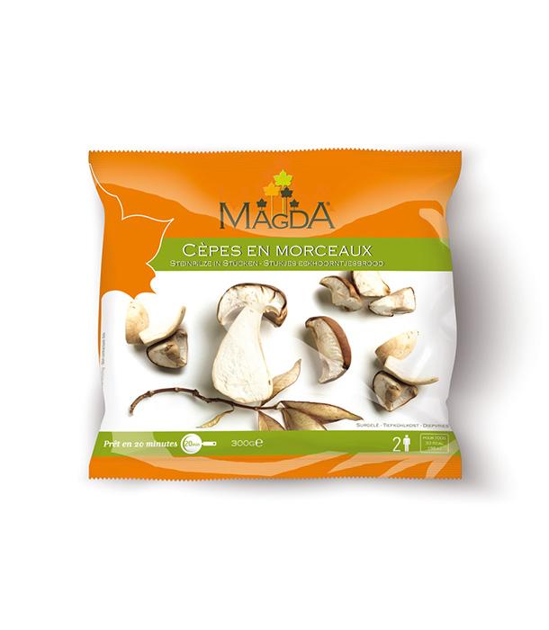 Panier de champignons bruts Magda