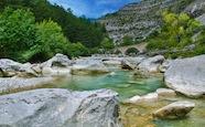 Pont gorges de la Méouge