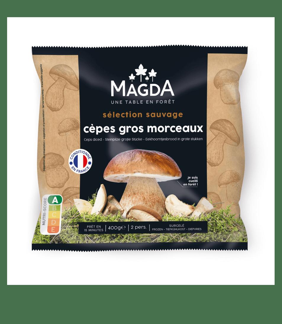 Mélange de cèpes et bolets surgelés Magda