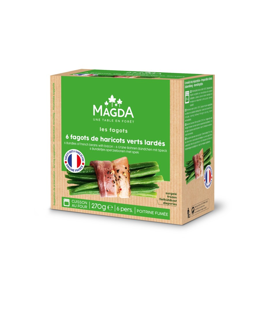 fagots de haricots verts France